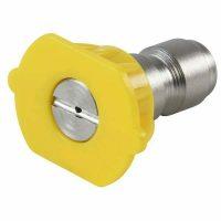 yellow pressure washer nozzle